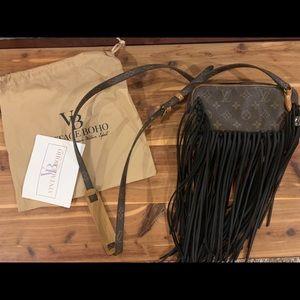 Louis Vuitton Fringe Crossbody Vintage Boho Bags
